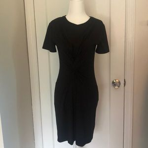 Nwt) new Theory Knot tee dress size s